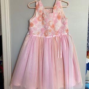 Beautiful pink floral dress